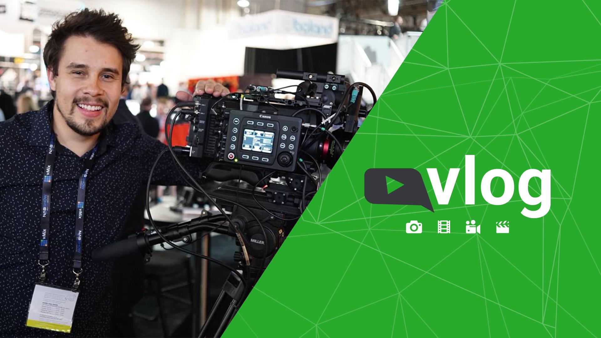 Vlog NABSHOW - Canon C700 FF