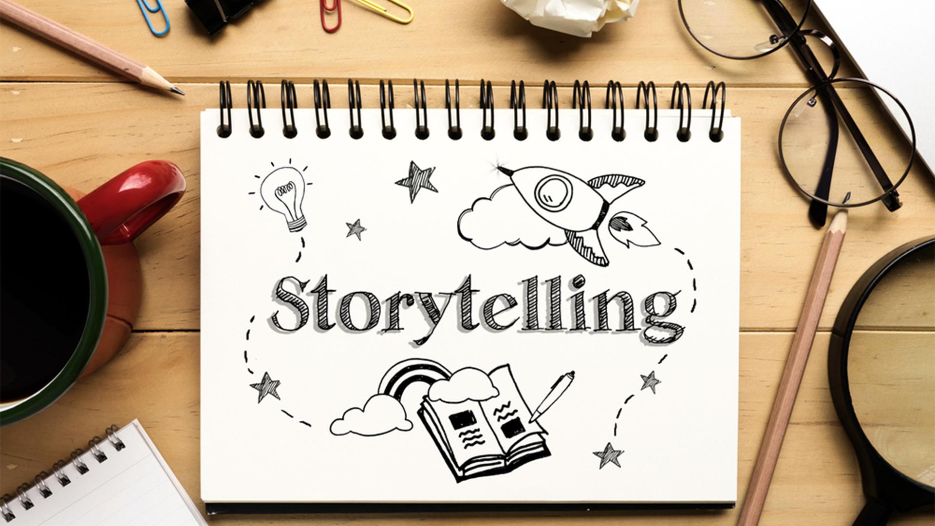 Senta que lá vem Storytelling