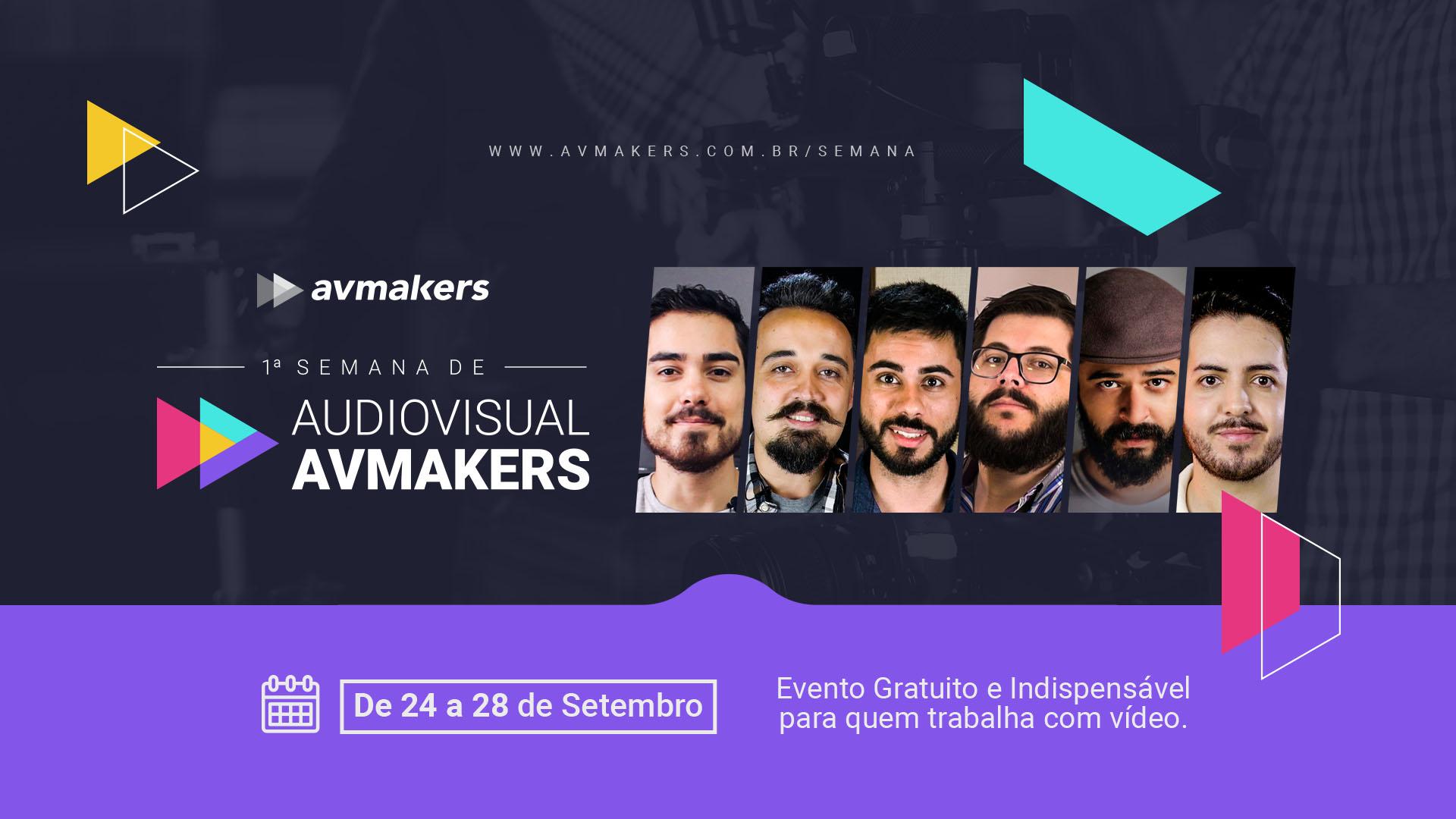Vem Aí a 1ª Semana de Audiovisual AvMarkers