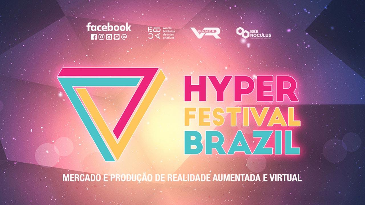 """Conheça o """"Hyper Festival"""", evento sobre realidade aumentada e vídeo 360º em São Paulo."""