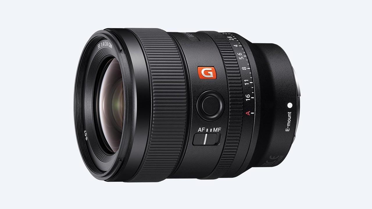 Sony anuncia a nova lente 24mm F1.4 GM, a mais leve da categoria.