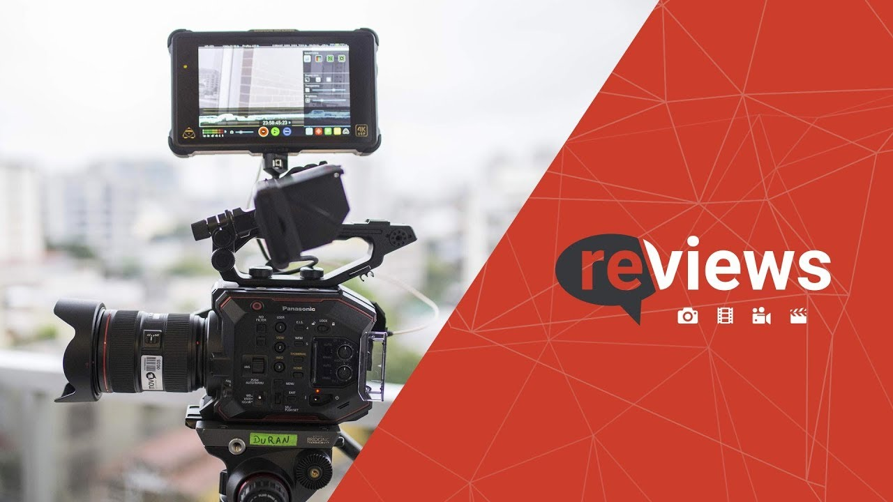 FilmeCon Reviews - Câmera Panasonic EVA1