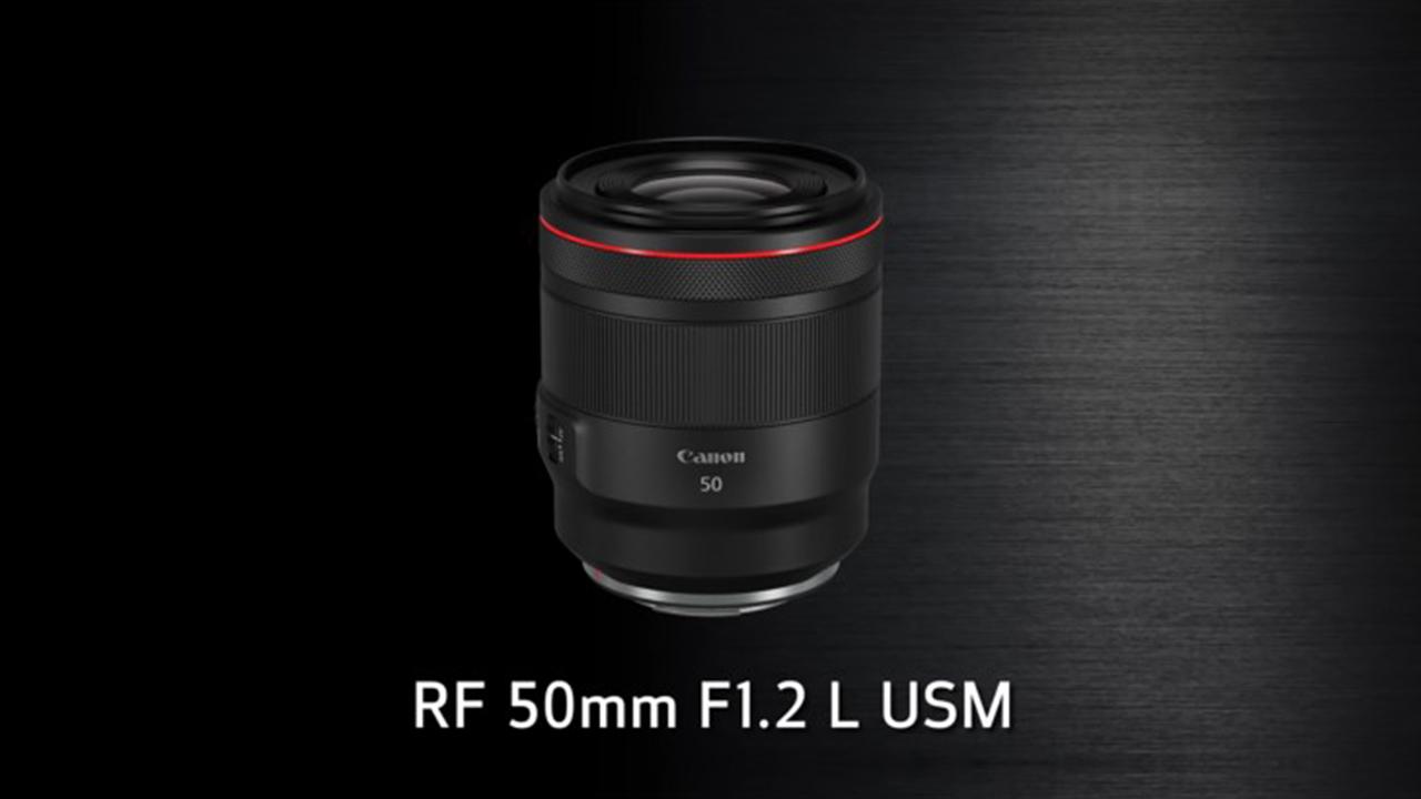 A Canon RF 50mm f/1.2 já chegou para sua Canon EOS R