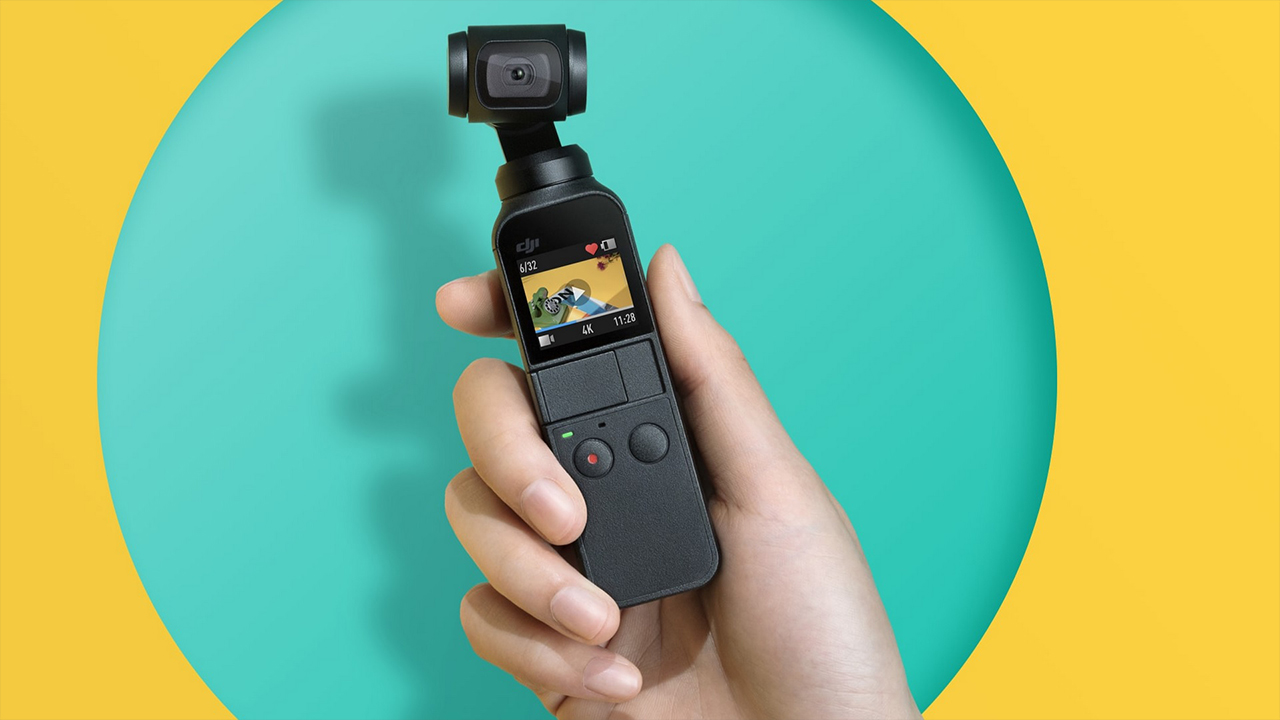 DJI Osmo Pocket - Pequeno no tamanho, gigante em possibilidades.