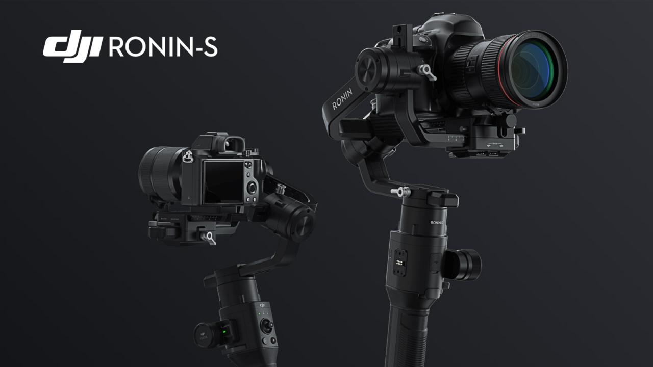 Ronin S - Nova Linha de Acessórios da DJI Promete