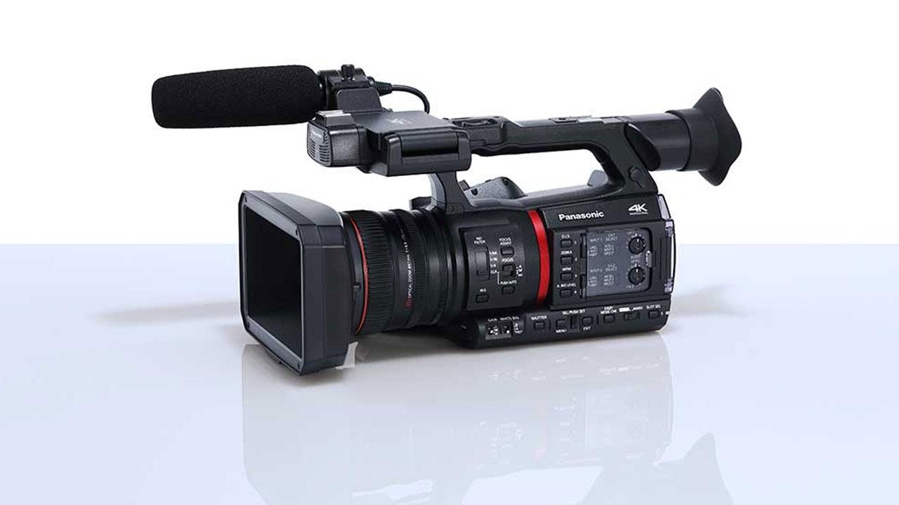 "Panasonic apresenta sua câmera ""All-in-One"" 4K 10-bit 60fps AG-CX350"