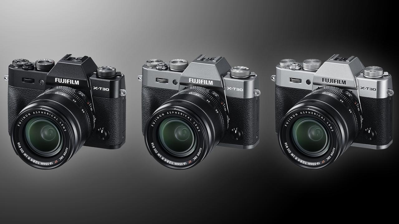 Os anúncios lançamentos da Fujifilm: a X-T30 e as lentesXF 16mm F2.8